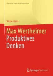 Max Wertheimer, Produktives Denken