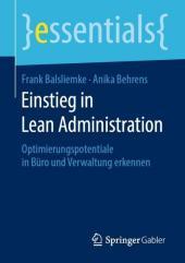 Einstieg in Lean Administration