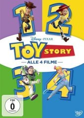 Toy Story 1-4, 4 DVD