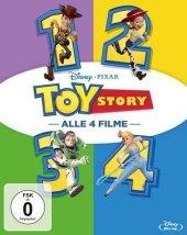 Toy Story 1-4, 4 Blu-ray
