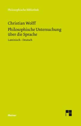 Philosophische Untersuchung über die Sprache