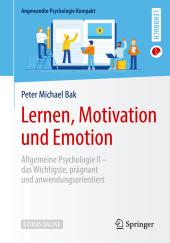 Lernen, Motivation und Emotion