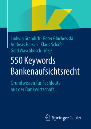 550 Keywords Bankenaufsichtsrecht