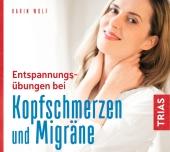Entspannungsübungen bei Kopfschmerzen und Migräne, 1 Audio-CD Cover