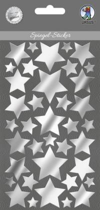 """URSUS Spiegel-Sticker """"Sterne"""""""