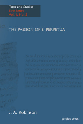 The Passion of S. Perpetua