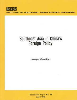 Southeast Asia in China's Foreign Policy