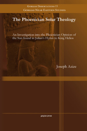 The Phoenician Solar Theology