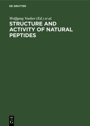 Structure and Activity of Natural Peptides