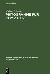 Piktogramme für Computer