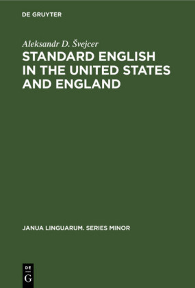 Standard English in the United States and England