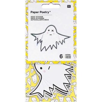 Deko-Sticker Halloween, Gespenster, FSC Mix