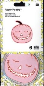 Deko-Sticker Halloween, Kürbisse, FSC Mix