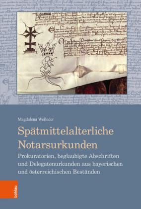 Spätmittelalterliche Notarsurkunden