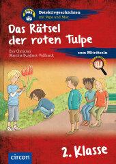 Das Rätsel der roten Tulpe Cover