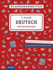 Klassenarbeiten Deutsch 4. Klasse Cover