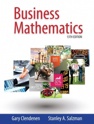 Business Mathematics plus MyMathLab with Pearson eText -- Access Card Package, m. 1 Beilage, m. 1 Online-Zugang; .