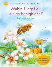 Wohin fliegst du, kleine Honigbiene? Cover