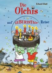 Die Olchis auf Geburtstagsreise Cover