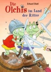 Die Olchis im Land der Ritter Cover