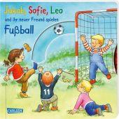 Jakob, Sofie, Leo und ihr neuer Freund spielen Fußball Cover