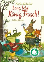 Lang lebe König Frosch! Cover