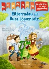 Ritterradau auf Burg Löwentatz