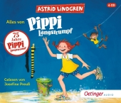 Alles von Pippi Langstrumpf, 6 Audio-CD Cover