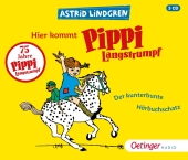 Hier kommt Pippi Langstrumpf, 3 Audio-CD Cover
