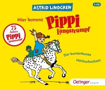Hier kommt Pippi Langstrumpf, 3 Audio-CD