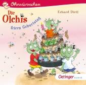 Die Olchis feiern Geburtstag, 1 Audio-CD Cover
