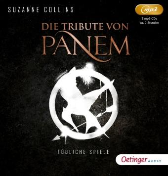 Die Tribute von Panem, 2 Audio-CD, MP3