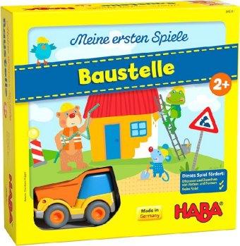 HABA Meine ersten Spiele - Baustelle (Spiel)