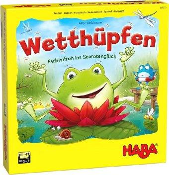 HABA Wetthüpfen (Spiel)