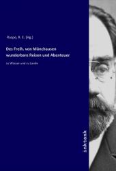 Des Freih. von Münchausen wunderbare Reisen und Abenteuer Cover