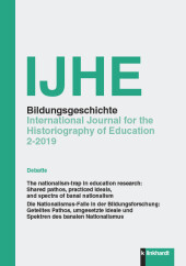IJHE Bildungsgeschichte - International Journal for the Historiography of Education