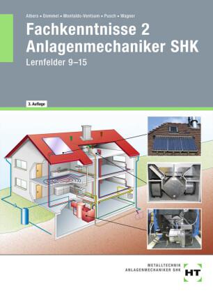 Fachkenntnisse 2 Anlagenmechaniker SHK, m. eBook