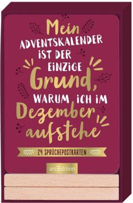 Mein Adventskalender ist der einzige Grund, warum ich im Dezember aufstehe