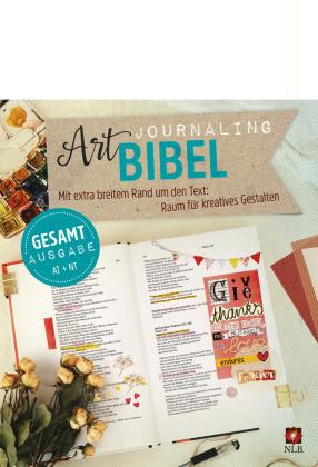 Art Journaling Bibel, Neues Leben Bibel, NLB, Gesamtausgabe