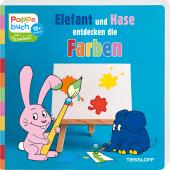 Elefant und Hase entdecken die Farben