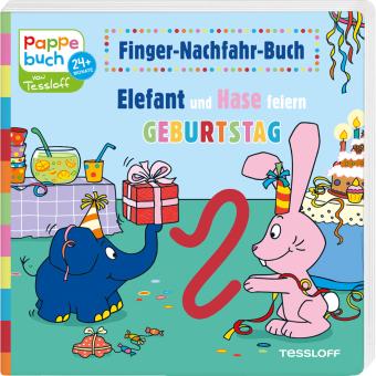 Elefant und Hase feiern Geburtstag