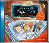 Der kleine Major Tom - Im Bann des Jupiters, Audio-CD Cover