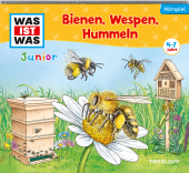 Bienen, Wespen, Hummeln, 1 Audio-CD Cover