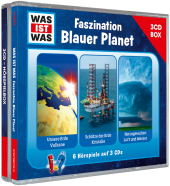 Was ist was 3-CD Hörspielbox - Faszination Blauer Planet, 3 Audio-CD Cover