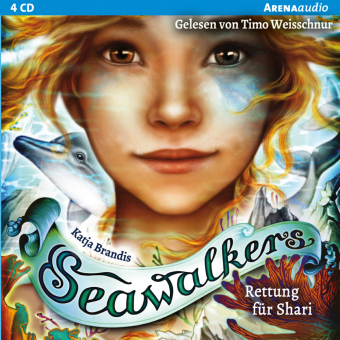 Seawalkers - Rettung für Shari, 4 Audio-CD