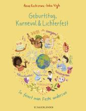 Geburtstag, Karneval & Lichterfest Cover