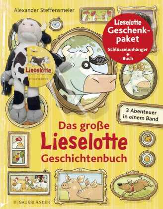 Das große Lieselotte Geschichtenbuch, m. Schlüsselanhänger