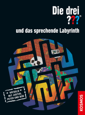 Die drei ??? und das sprechende Labyrinth Cover