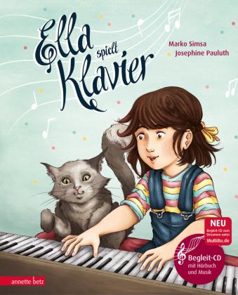 Ella spielt Klavier, m. Audio-CD
