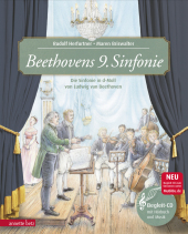 Beethovens 9. Sinfonie, m. Audio-CD Cover